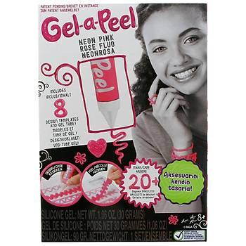 Gel-a-Peel Aksesuar Tasarým Baþlangýç Paketi Pembe Neon