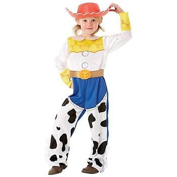Toy Story Jessie Lüks Çocuk Kostüm 7-8 Yaþ