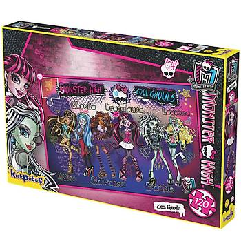 Kýrkpapuç Monster High Cool Ghouls Çocuk Puzzle