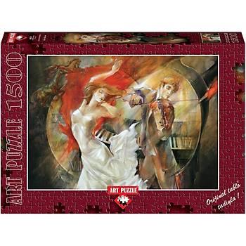 Art Puzzle 1500 Parça Puzzle Sonsuz Aþk