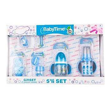 Baby Time Bebek Hediye Seti 5 li - Mavi