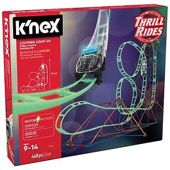 K'Nex Looping Light-Up Roller Coaster 51455 (Motorlu)