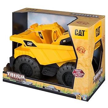 Cat Dump Truck Ýnþaat Araçlý Taþýyýcý Büyük Kamyon Model 2