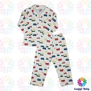 Luggi Baby Otobüs Pijama Takým