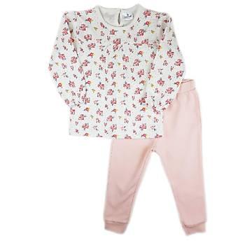 Luggi Baby Çiçek Desenli Pijama Takýmý