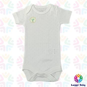 Luggi Baby Jakarlý  Kýsa Kol Body