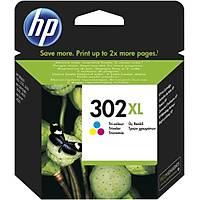 HP F6U67A Renkli Mürekkep Kartuþ (302XL)