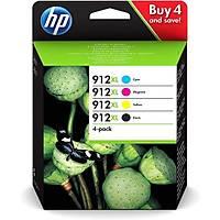 HP 3YP34AE CMYK 4'lü Mürekkep Kartuþ (912XL)