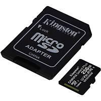 Kingston 256G Micro SDHC Canvas 100MB/s SDCS2/256G