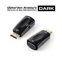 Dark DK-HD-AHDMIXVGA2 HDMI To VGA,Ses Analog Dönüþ