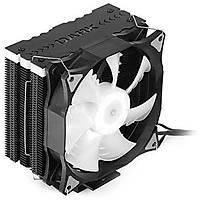 Dark Freezer X126 Çift Fanlý RGB Mat Syah ÝþlmcSoð