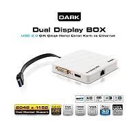 Dark DK-AC-UGA30 HDMI / DVI+VGA FullHD USB 3.0 - 2