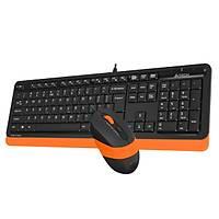 A4-Tech F1010 Turuncu USB Klavye Mouse Set - MM