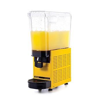 Samixir Mono Fýskiyeli Tekli Limonata Soðutma Makinesi 20 Litre 20.SY