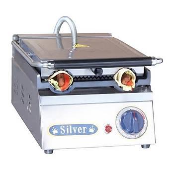 Silver Dürüm Tost Makinesi 2 Dürüm Elektrikli