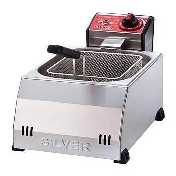 Silver Fritöz 8 L Elektrikli