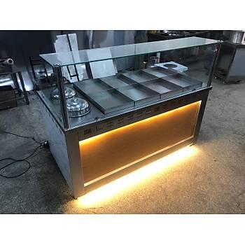 Sulu Sistem 8+2 Benmari & Yemeklik, elektrikli, taþlý