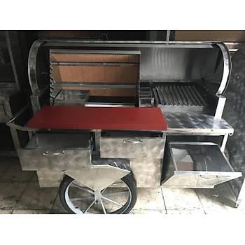 Seyyar kokoreç arabasý - 150 cm