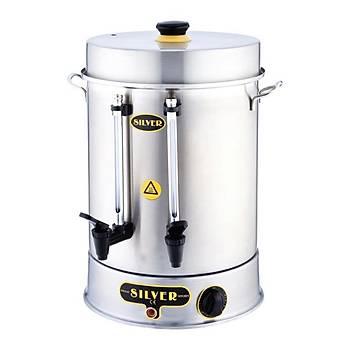 Silver Standart Çay Makinesi 250 Bardak Kapasiteli 23 L