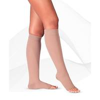 Diz Altı Varis Çorabı Burnu Açık DÜŞÜK BASINÇ