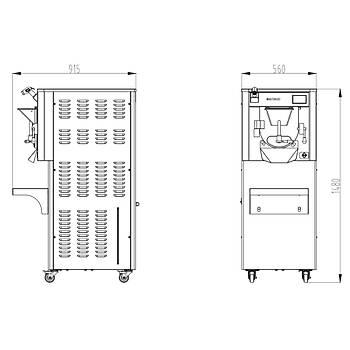 VOSCO Sert Dondurma Makinesi VSC-20 Master