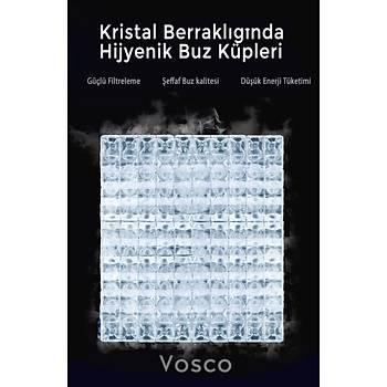 VOSCO Buz Makinesi 250 Kg/Gün Nova Serisi