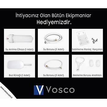 VOSCO Buz Makinesi 150 Kg/Gün Aura Serisi