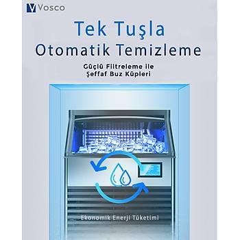 VOSCO Buz Makinesi 120 Kg/Gün Nova Serisi