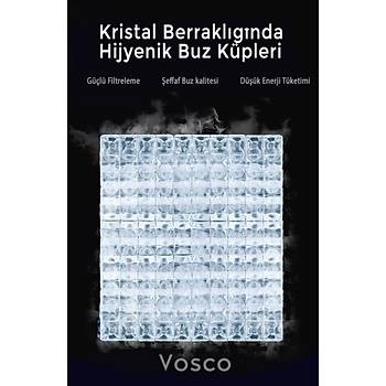 VOSCO Buz Makinesi 80 Kg/Gün Nova Serisi