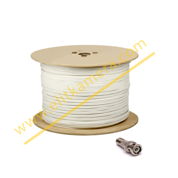 Cctv Kablo 2+1 0.50 mm Elit 500 Metre Tse