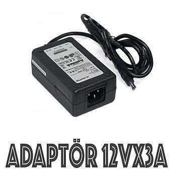 Adaptör 12 Volt 3 Amper