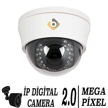 Bycam Pro 3222 2.0 M.Pixel 2.8-12 mm W.lens Ýp Dome Kamera