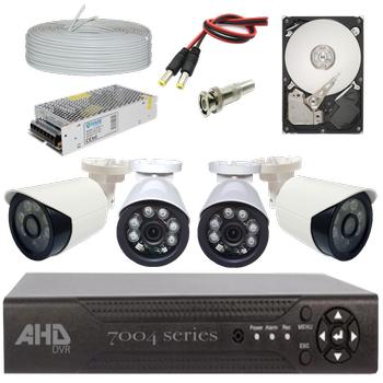 Bycam Ahd Süper 4 Kameralý Set 1080p Full Hd