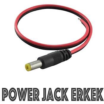 Power Dc Erkek Jack