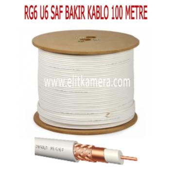 RG6 U6 SAF BAKIR KABLO ( 500 METRE )