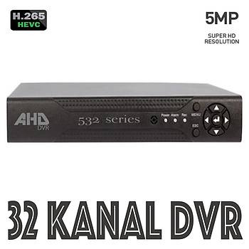 Bycam Pro 532 32 Kanal Dvr 5.0 Megapixel H265 Plush