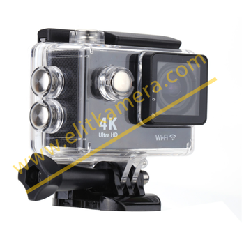 Aksiyon Kamerasý 4K Ultra Hd Su Geçirmez