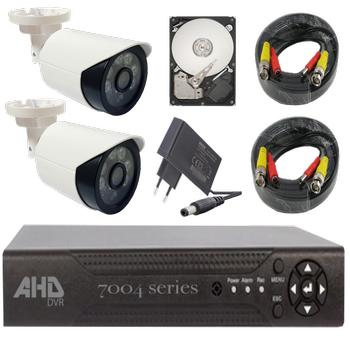 Bycam Ahd Süper 2 Kameralý Set 1080p Full Hd