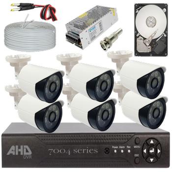 Bycam Ahd Süper 6 Kameralý Set 1080p Full Hd