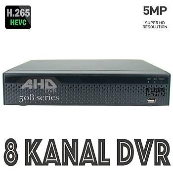 Bycam Pro-HD 508  5.0 M.PÝXEL 8 Kanal Ahd Kayýt Cihazý