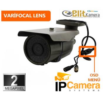 Bycam Pi 6272  2.0 M.Pixel 2,8-12 MM W.Lens Ýp Kamera