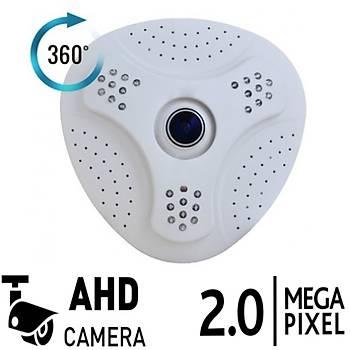 Bycam Hd-360 Ahd Balýkgöz Kamera 2.0 Megapixel