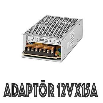 Adaptör 12 Volt 15  Amper