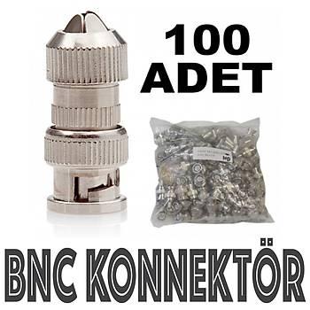 Bnc  Konnektör 100 Lük Paket