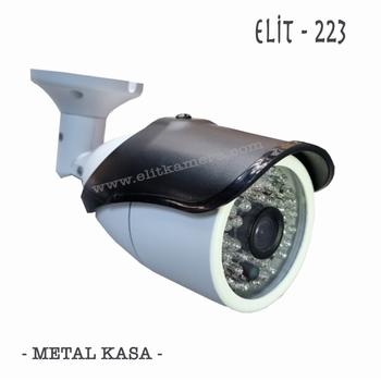 Bycam Hd-223 5.0 Megapixel Lens 1080p Ahd Kamera Metal Kasa