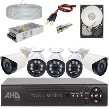 Bycam Ahd Süper 5 Kameralý Set 1080p Full Hd