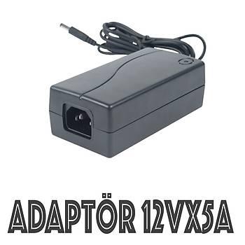 Adaptör 12 Volt 5 Amper