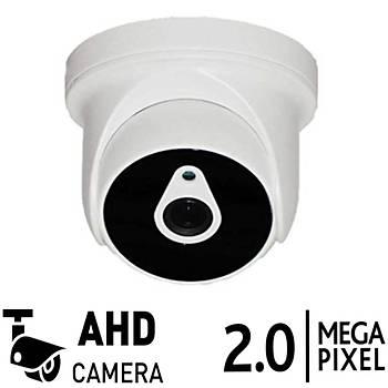 Bycam 3601 2.0 M.pixel Ahd Dome Kamera 2,8 mm en geniþ açý
