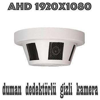 Bycam 1200 Ahd 2.0 M.Pixel Duman Dedektörlü  Gizli Kamera