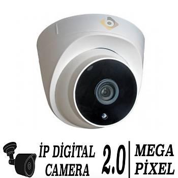 Bycam 6203 2.0 Megapixel  Ýp Dome Kamera